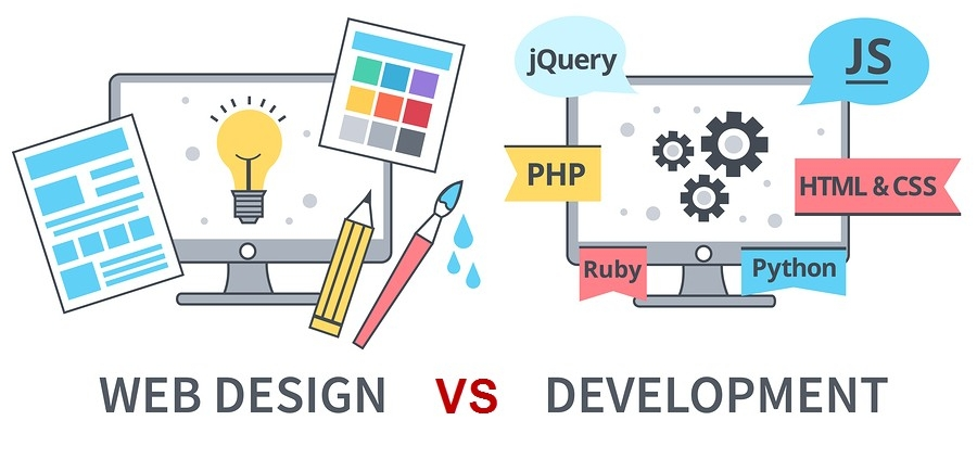 Web Design VS Web Development What's The Difference